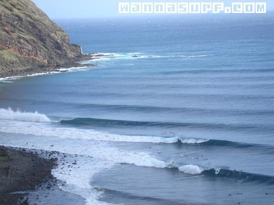 Igueste Surfing In Tenerife Canary Islands Wannasurf Surf